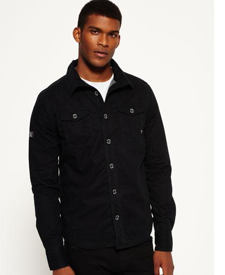 Black Shirt Jacket | Jackets Review