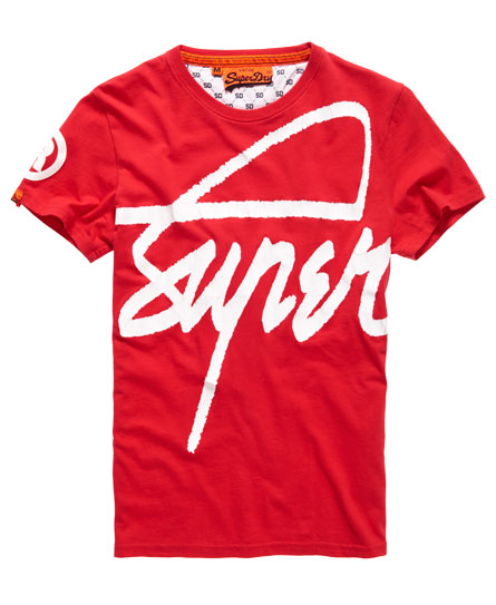 Superdry HERREN - T-shirt imprimé - red 0mJgXYE