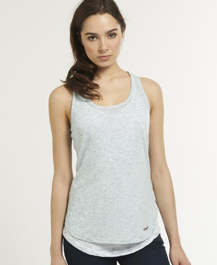 Superdry Muscle Tank Top Green
