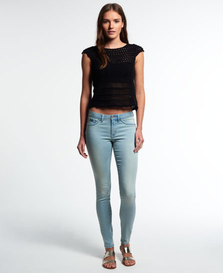 Superdry Alexia Jegging Jeans Blue
