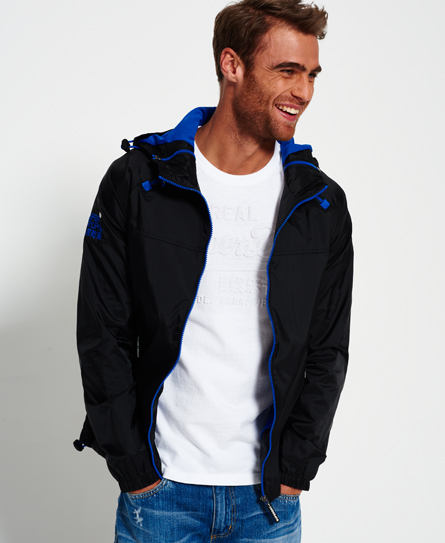 Dual Zip Through Cagoule