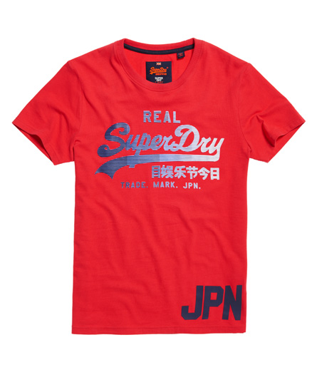 indianarot Superdry Vintage Logo 1st T-Shirt