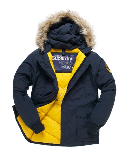 Superdry Everest Coat Navy