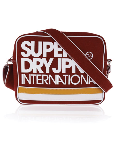 Superdry International Alumni Bag Red