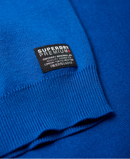 Superdry Supima Cotton Crew Neck Sweatshirt