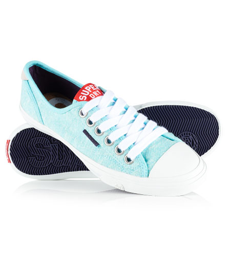 Superdry Low Pro Trainers Green