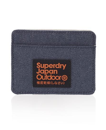 Superdry Montana Card Holder Blue