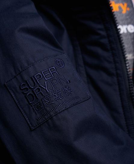 Superdry Microfibre SD-Windbomber 毛邊連帽防風夾克