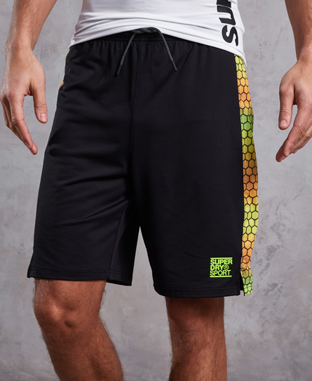 Superdry Superdry Training Relaxed Mesh shorts