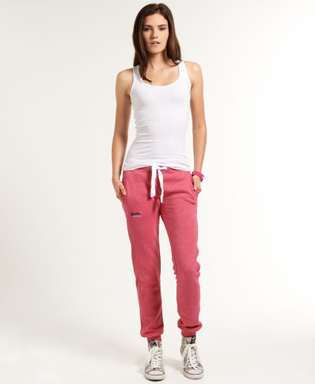 superdry pantalon de jogging slim surv tements pour femme. Black Bedroom Furniture Sets. Home Design Ideas