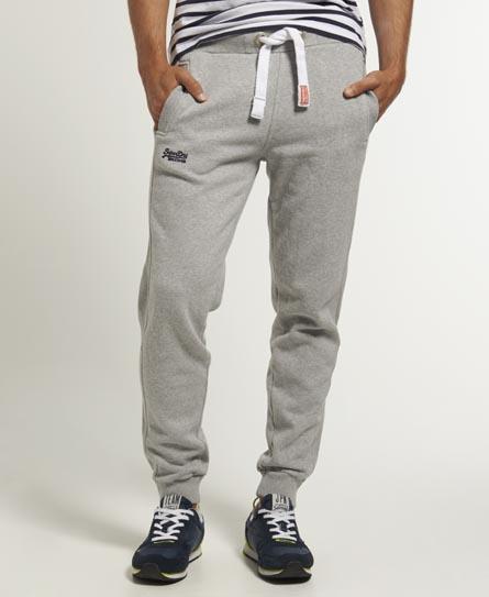 Superdry Orange Label Joggers Grey