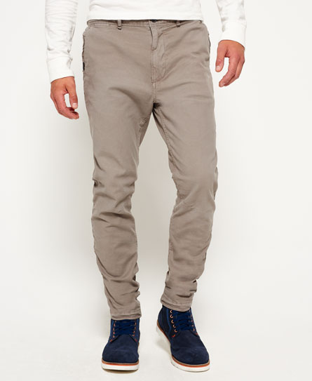 smoke grey Superdry Pantaloni a vita bassa in cotone Surplus Goods