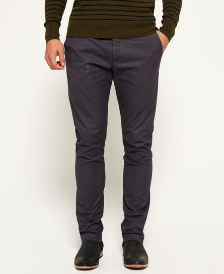 dust grey Superdry City Slim Chinos