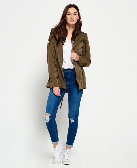 Superdry Parka Microfibre Project