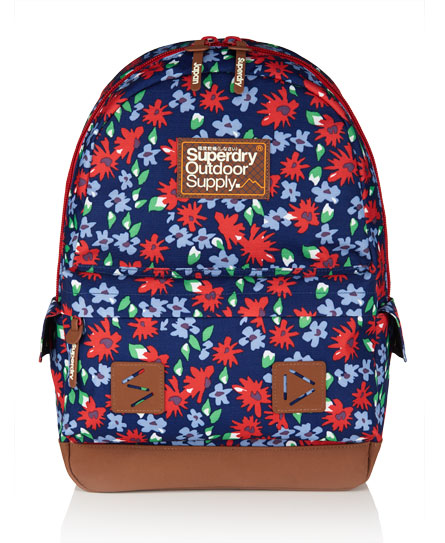 Superdry Thistle Montana Rucksack Red