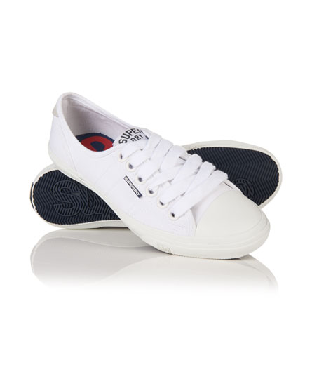 blanc/blanc Superdry Tennis Low Pro