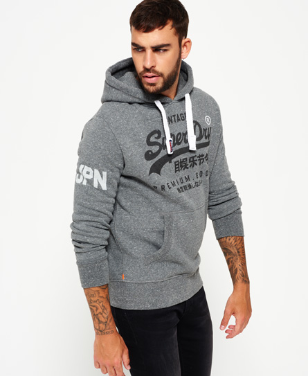 superdry premium goods hoodie herren hoodies. Black Bedroom Furniture Sets. Home Design Ideas