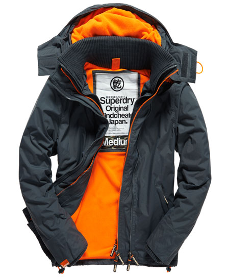 Mens Windcheaters Windproof Jackets And Coats Superdry