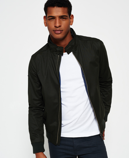IE Microfibre Harrington Jacket