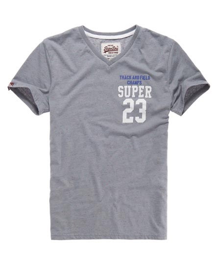 Superdry Yard Vee T-shirt Grey