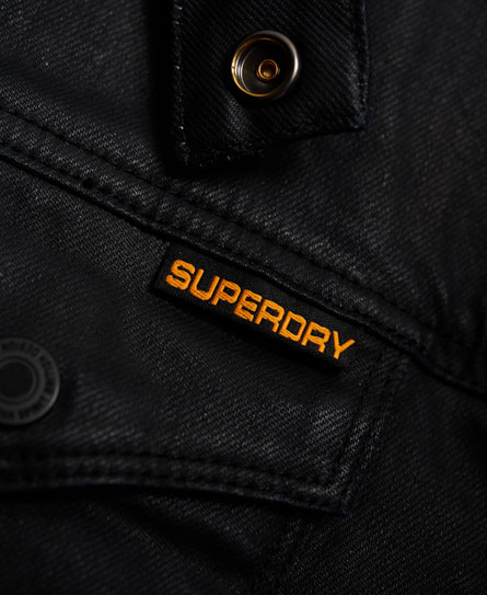 Superdry Denim Biker Jacket
