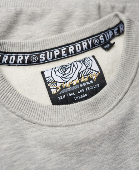 Superdry Sparkle Skater sweatshirt met ronde hals