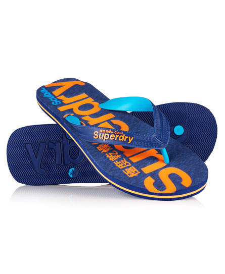 Superdry Scuba Thongs Navy