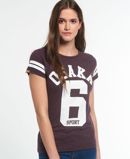 potent purple snowy Superdry Osaka Sport T-Shirt