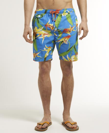 Superdry Honolulu Swimming Shorts Multi