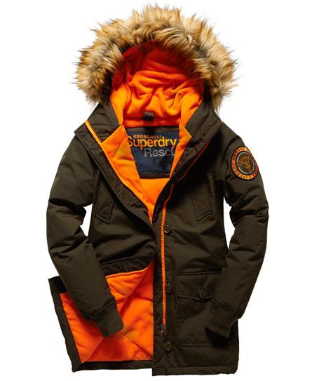 superdry everest slim polar coat women 39 s jackets coats. Black Bedroom Furniture Sets. Home Design Ideas