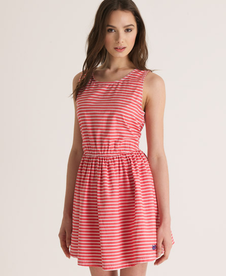 Superdry Beach Dress Red