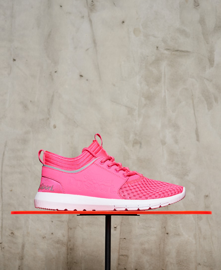 rose Superdry Baskets Super Mesh Runner