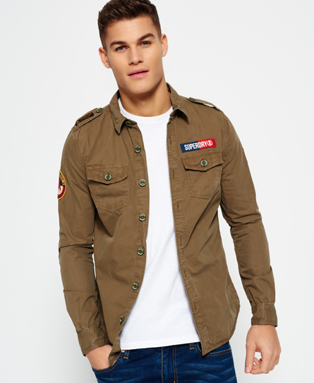 Superdry Superdry Ultra Light Army Corps skjorte