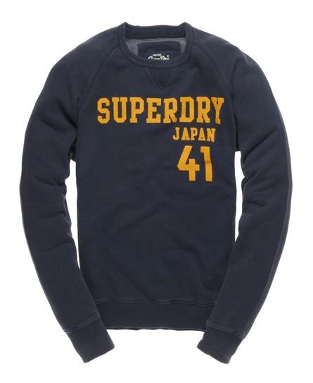 Superdry athletic lite crew Blue