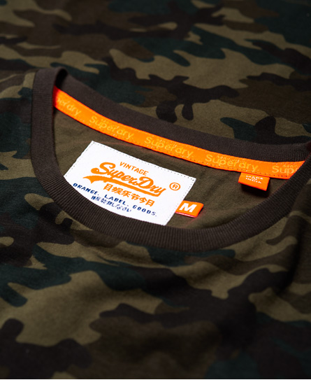 Superdry Orange Label Camo Pocket T-shirt