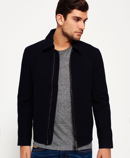 Superdry Nordic Wool Harrington Jacke