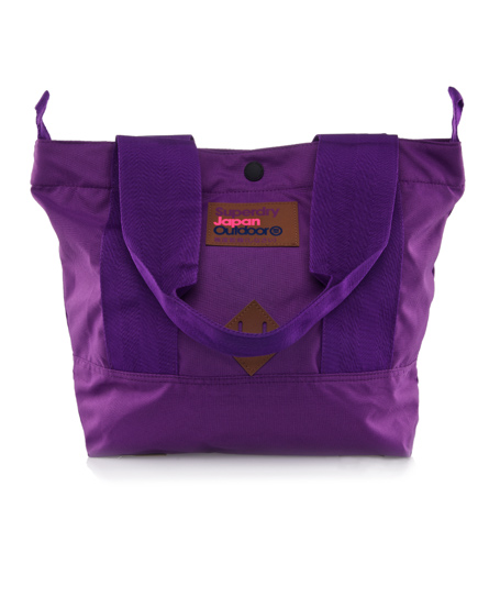 Superdry Montana Tote Purple