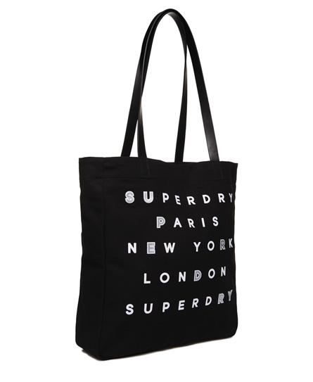 Superdry Etoile Parisian Shopper Bag
