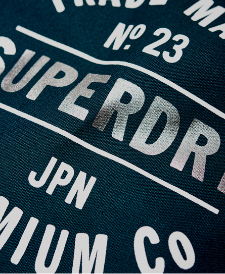 Superdry Athletic League Canvas Tote Bag
