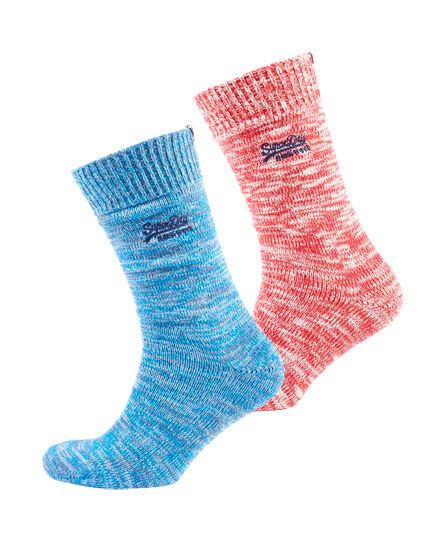 Superdry Big Hiker Socks Double Pack