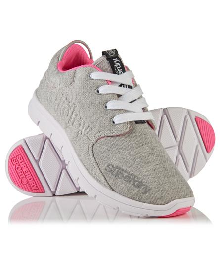 grey grit/fluro pink Superdry Chaussures de course Scuba