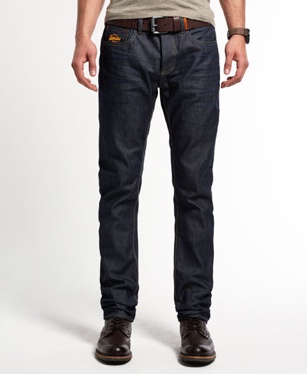 superdry jean large copperfill jeans pour homme. Black Bedroom Furniture Sets. Home Design Ideas