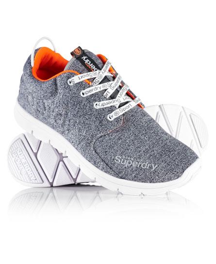 gris chinÉ Superdry Chaussures de course Scuba