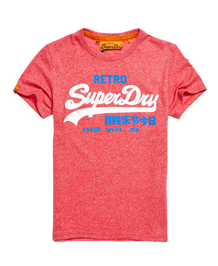 superdry t shirt vintage logo retro t shirts pour homme. Black Bedroom Furniture Sets. Home Design Ideas