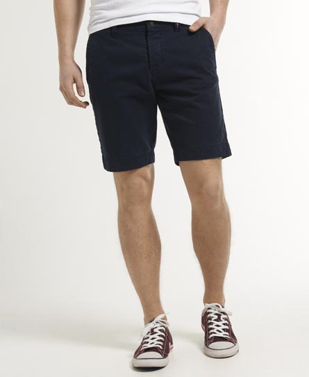 Mens - Commodity Chino Shorts in Dark Navy | Superdry