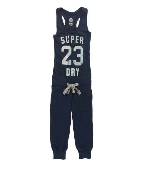 Superdry Charge Jumpsuit Blue