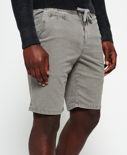 hounds grey Superdry International Sunscorched Beach Shorts