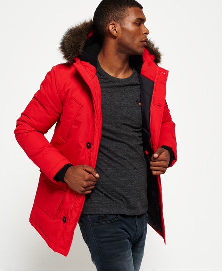 Superdry Faux Fur Trimmed Everest Coat