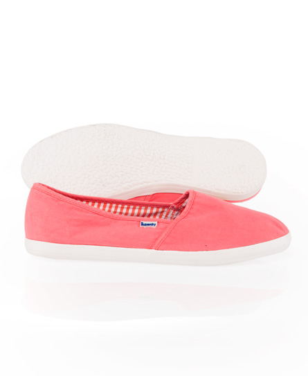 Superdry Slip On Dap Pink