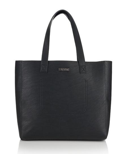 black night Superdry Elaina Tote Bag